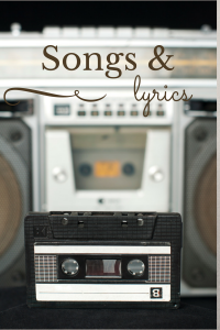 Songs & Lyrics