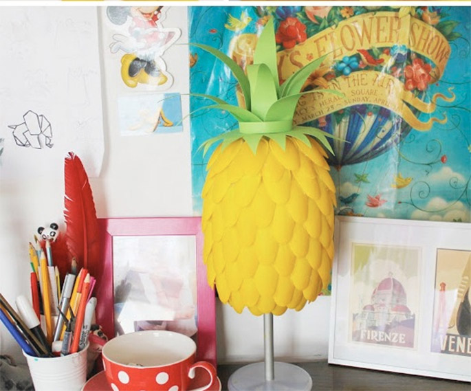 pineapple lamp
