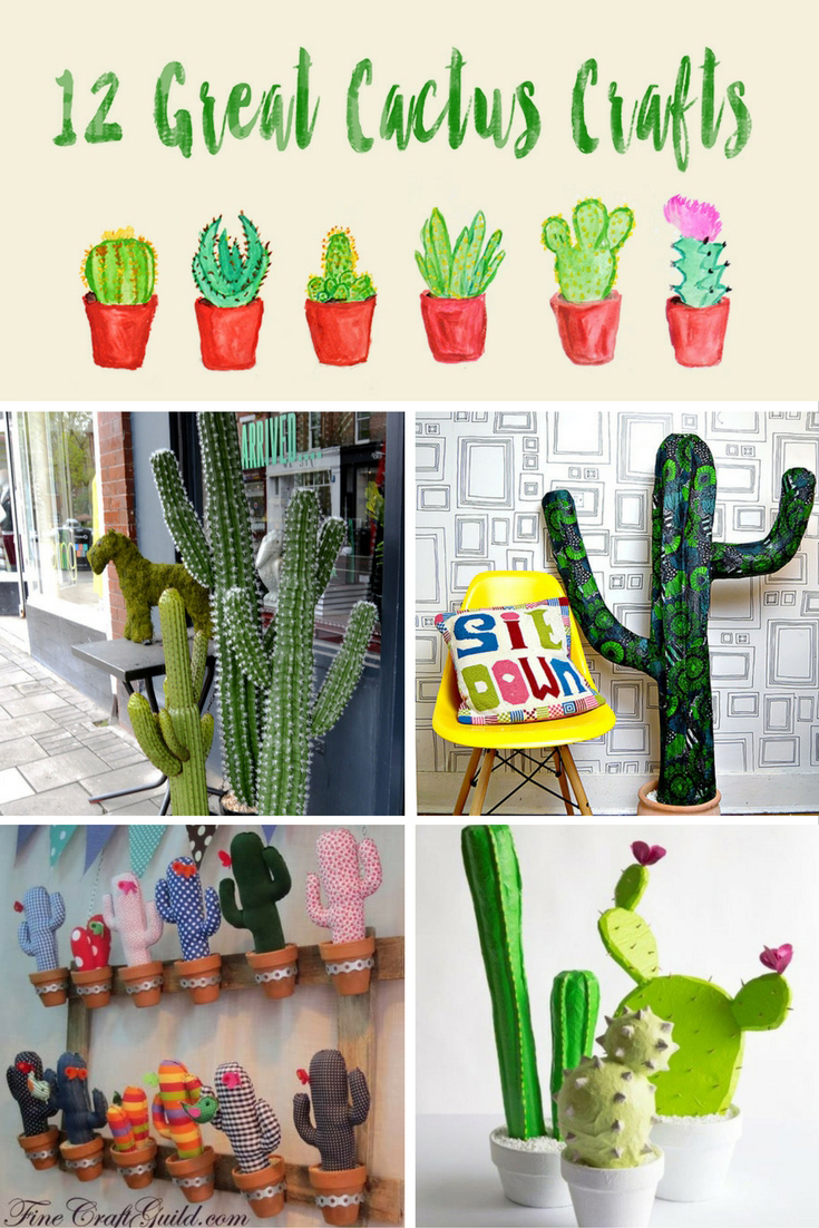 Do you love cacti ?  I have some fantastic cactus crafts to brighten up your home.