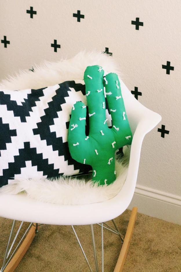 Cactus pillow everythingemilyblog