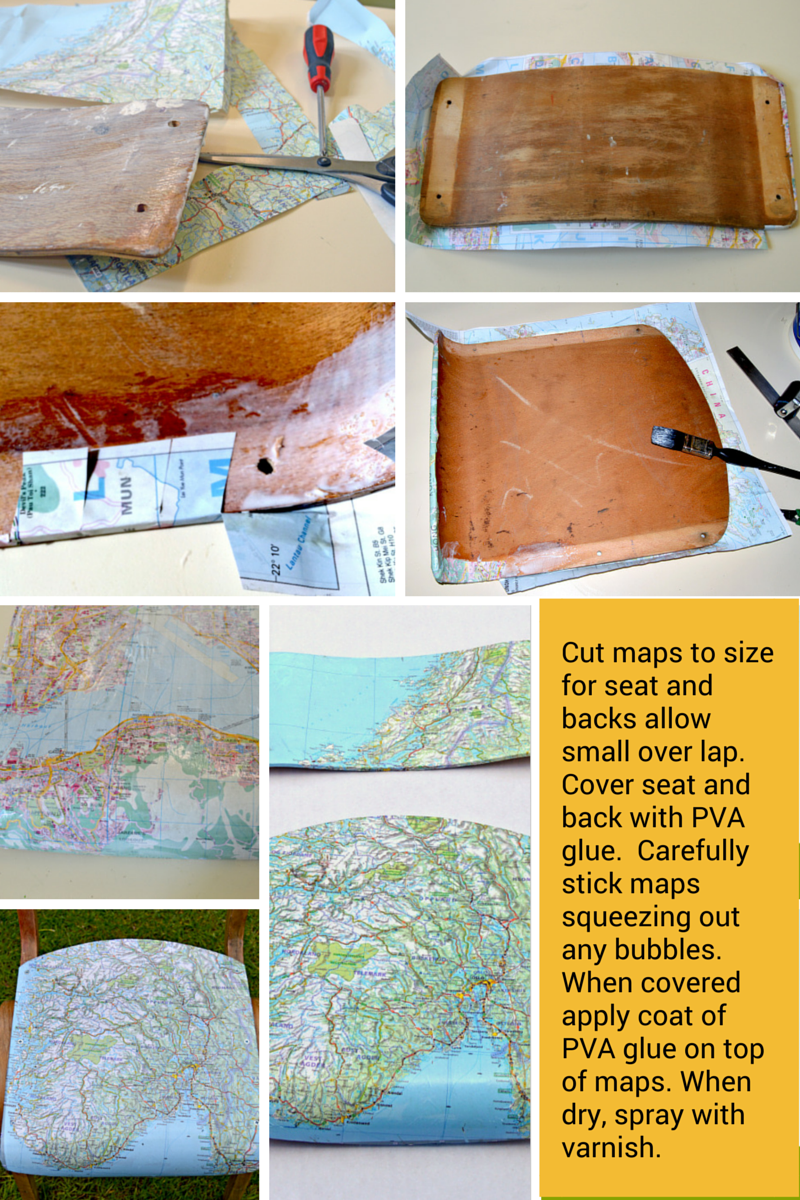 How to make map chairs part2 pillarboxblue.com