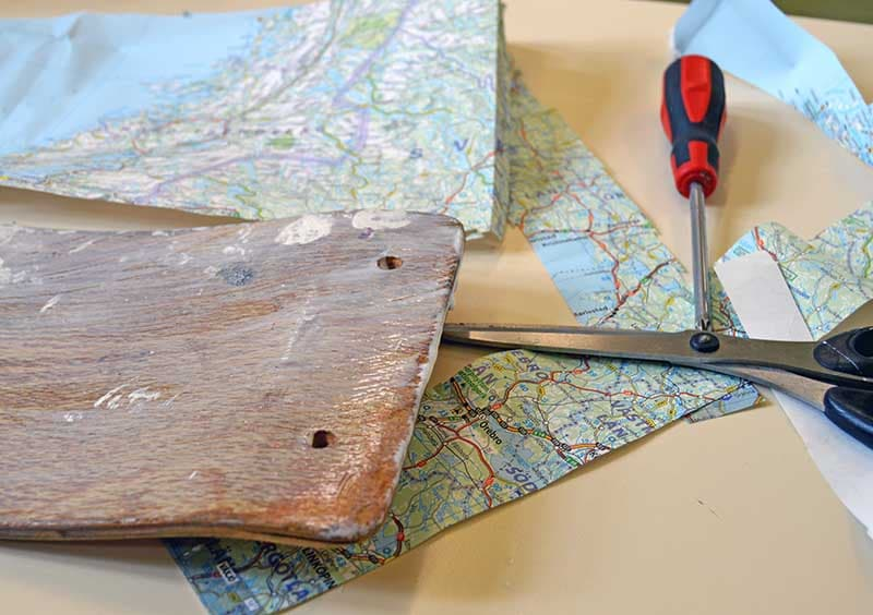 Cutting maps to size