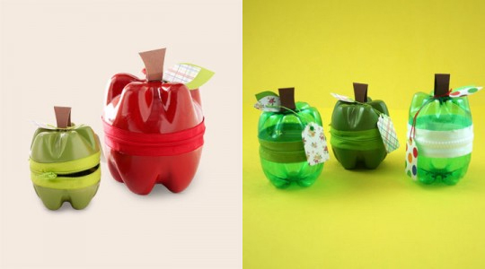 Apple bottle gift