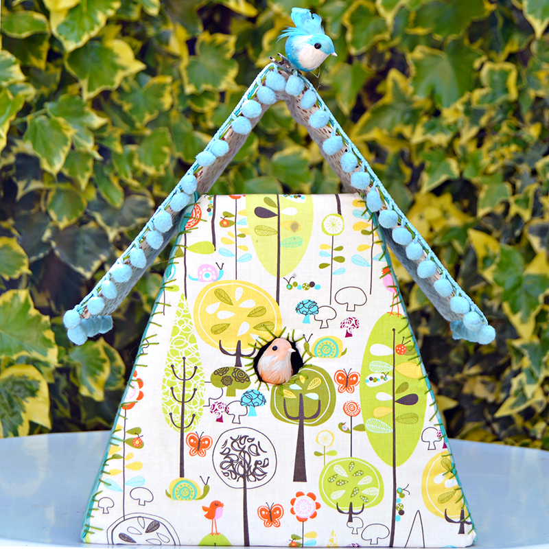 Fabric-Birdhouse-pillarboxblue.com