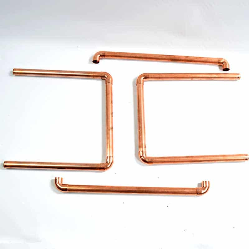 pipe and u bits for rack