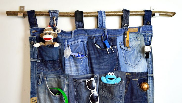 Tutorial for a Great Denim Pocket Organizer