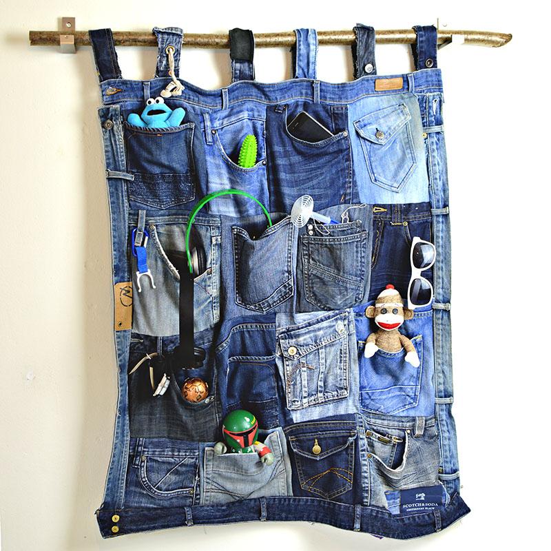 Jeans Pocket organiser
