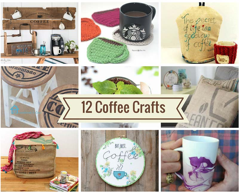 12 fantastic coffee crafts pillar box blue
