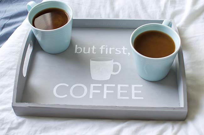 Coffee tray