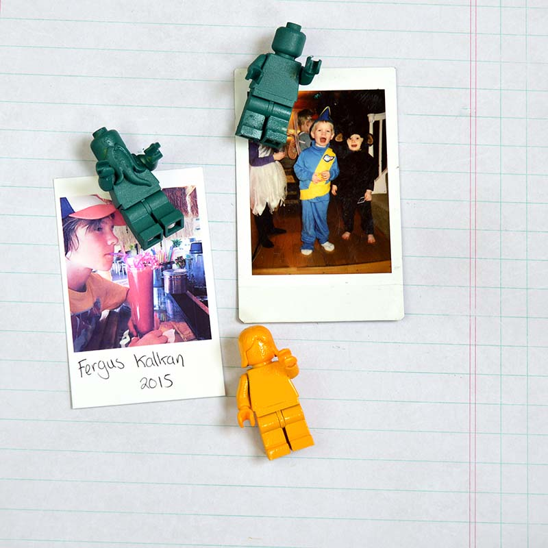 Lego figure push pins