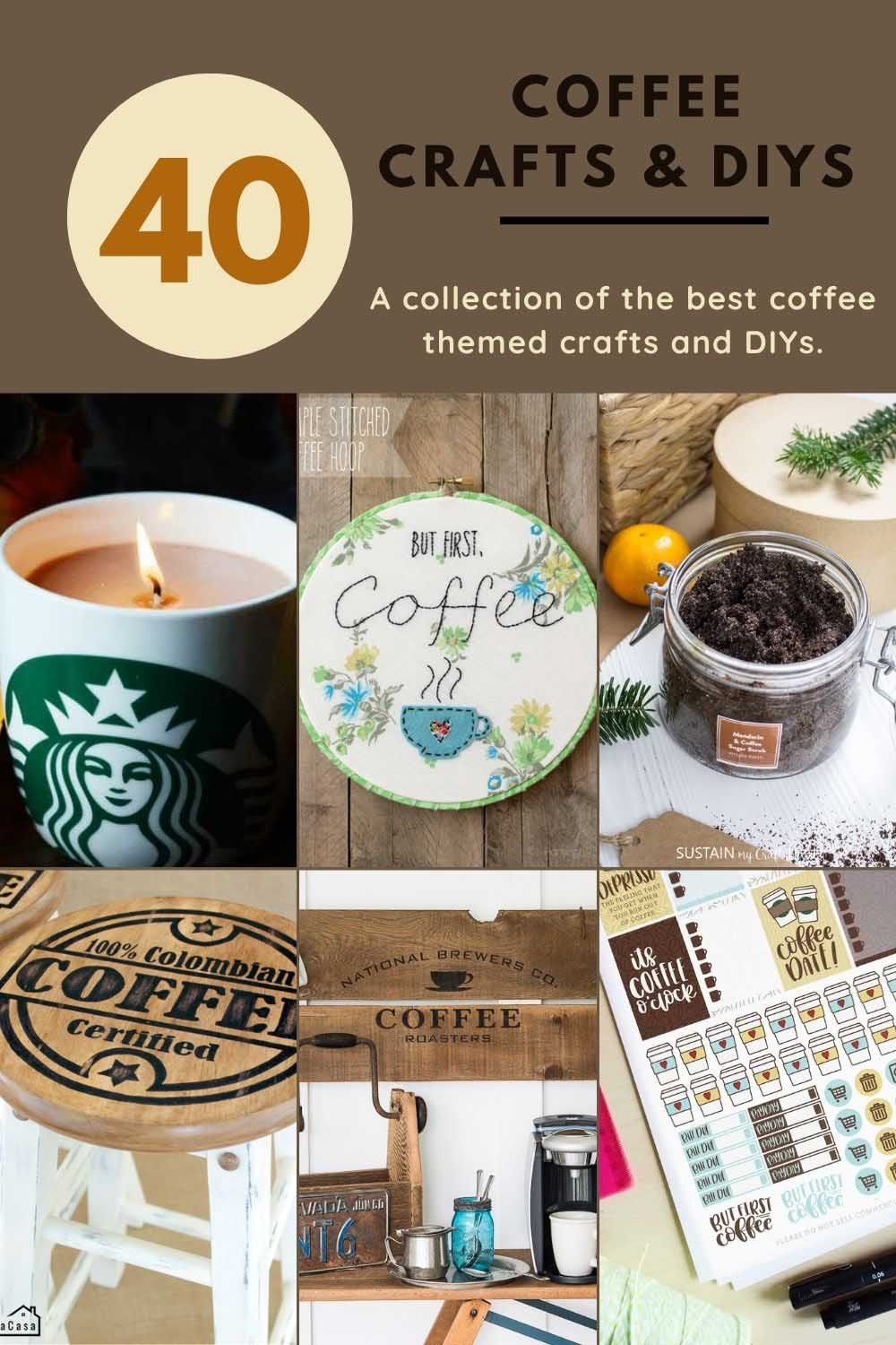 40 coffee crafts and diys