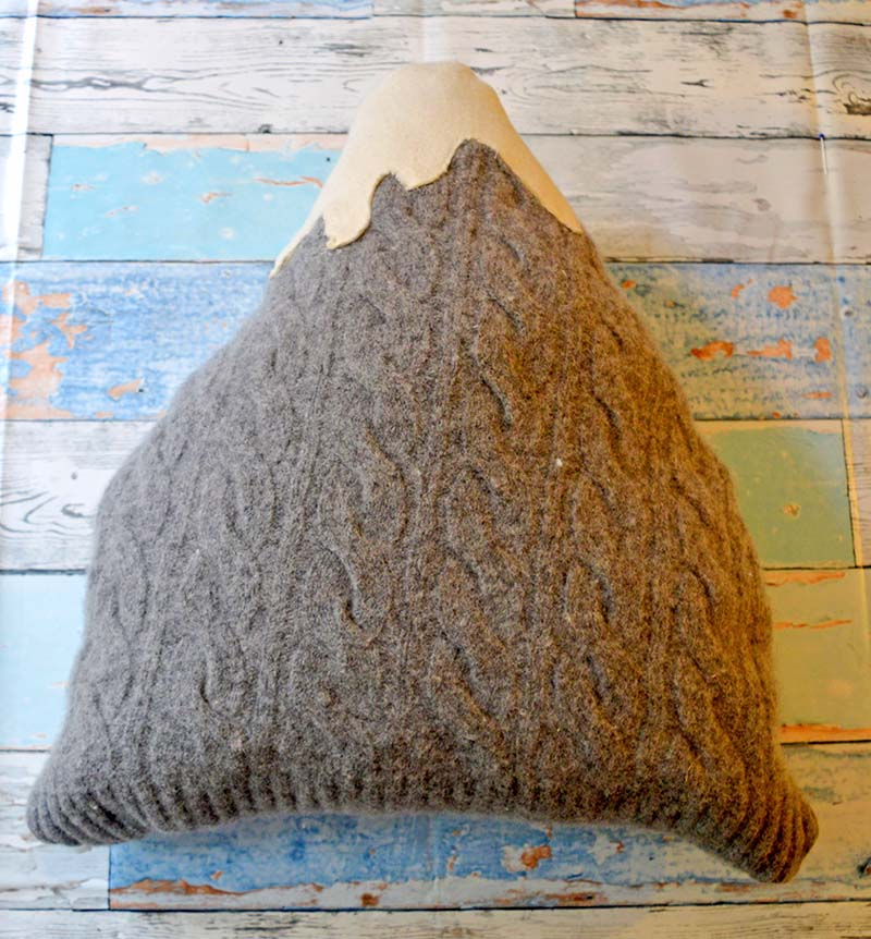 Sweater Mountain Cushion