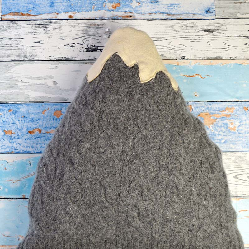 Sweater Mountain Pillow
