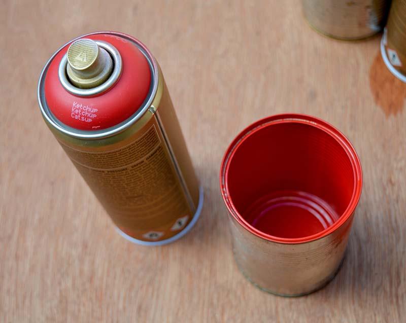 Tin Can Caddy - Pillarboxblue