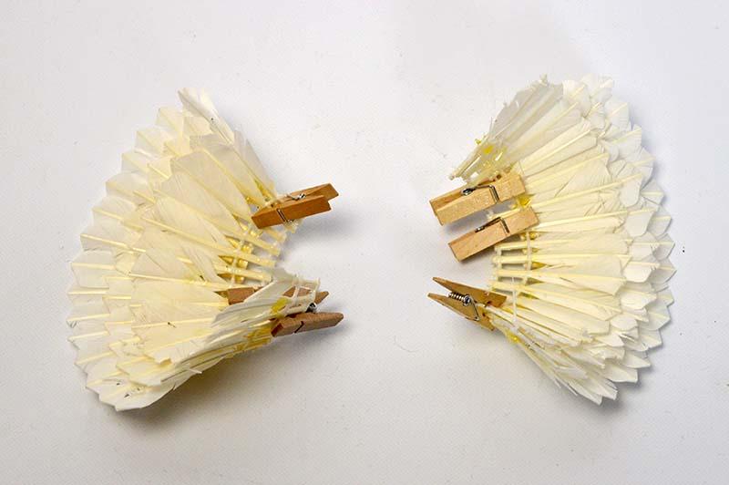 Shuttlecock angels