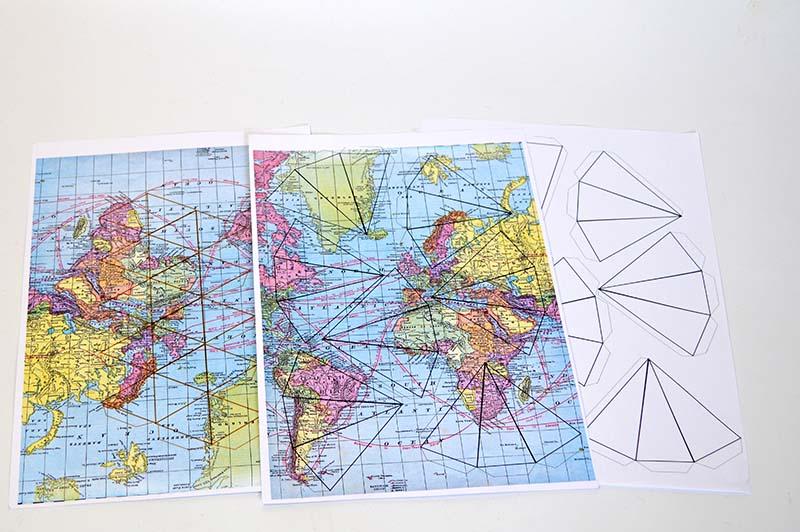 3D Map stars Template free download Pillarboxblue.com