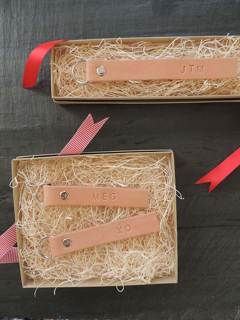 12 classy homemade monogrammed gifts