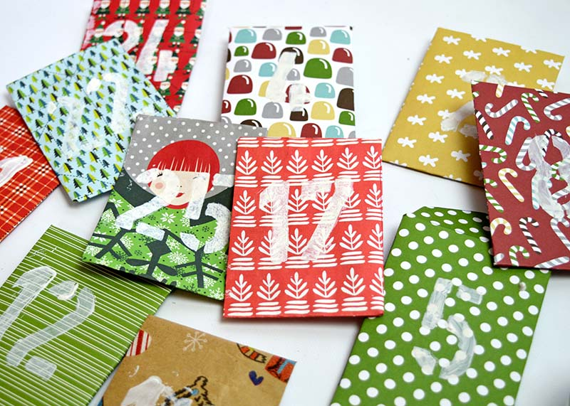 Paper Envelope Advent - Pillarboxblue.com