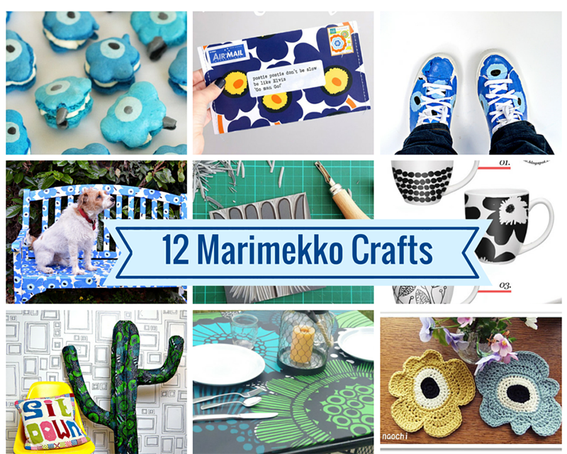 12 Marimekko Crafts - Pillarboxblue
