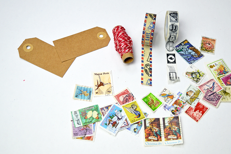 Stamp tags