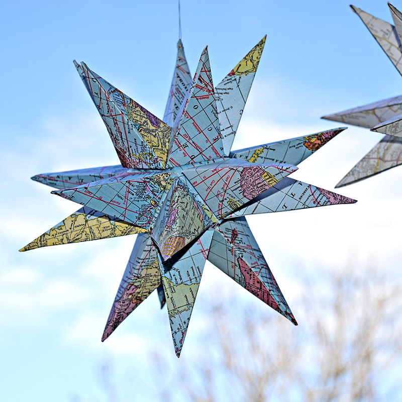 Map Stars Free Printables