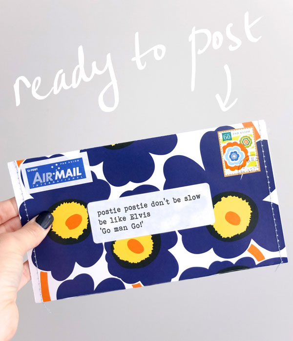marimekko envelope