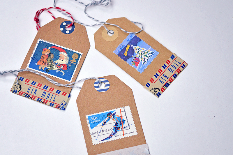 DIY Stamp tags