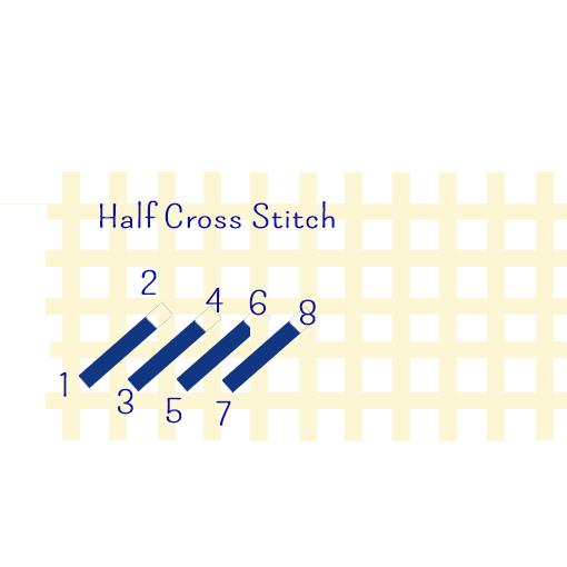half stitch
