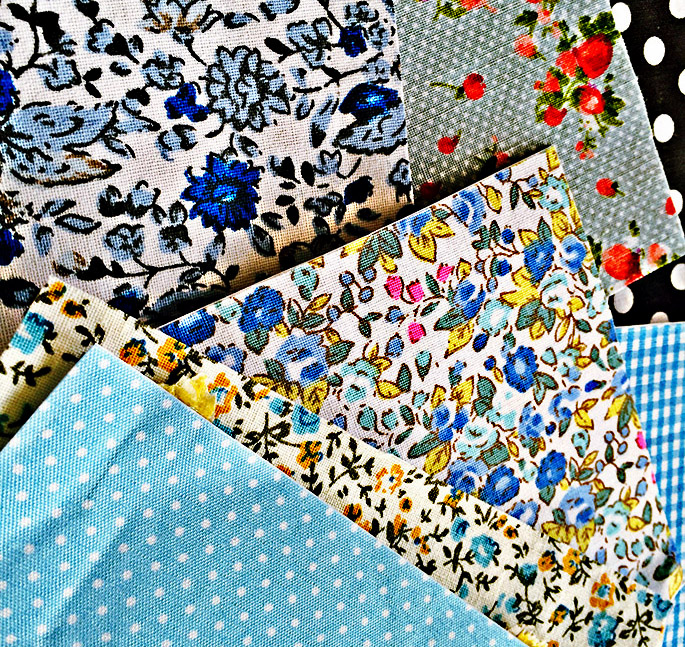 Adhesive fabric sheets
