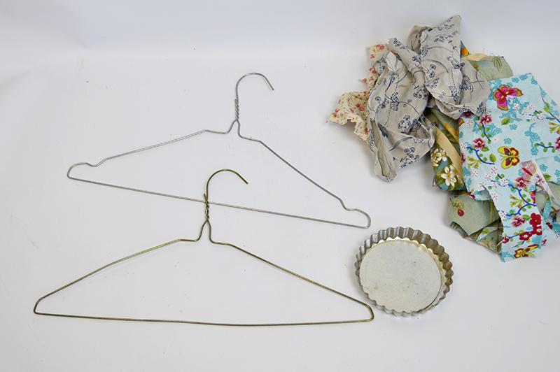 What You need to make fabric birdcage - Pillarboxblue