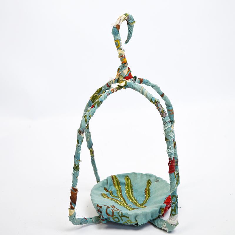 Fabric Birdcage - Pillarboxblue.com