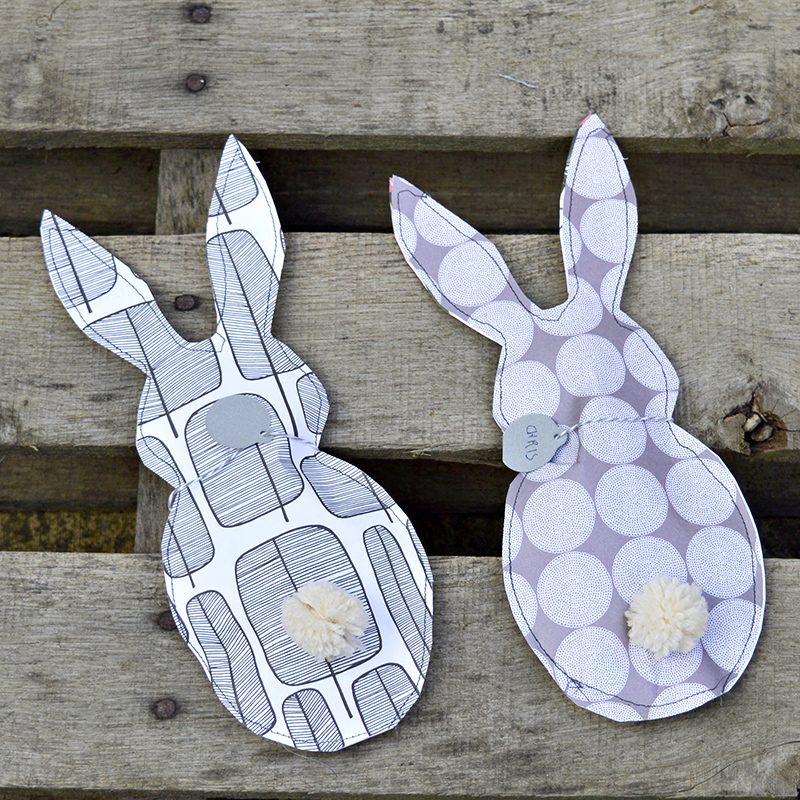 paper bunny treat bags - Pillarboxblue.com