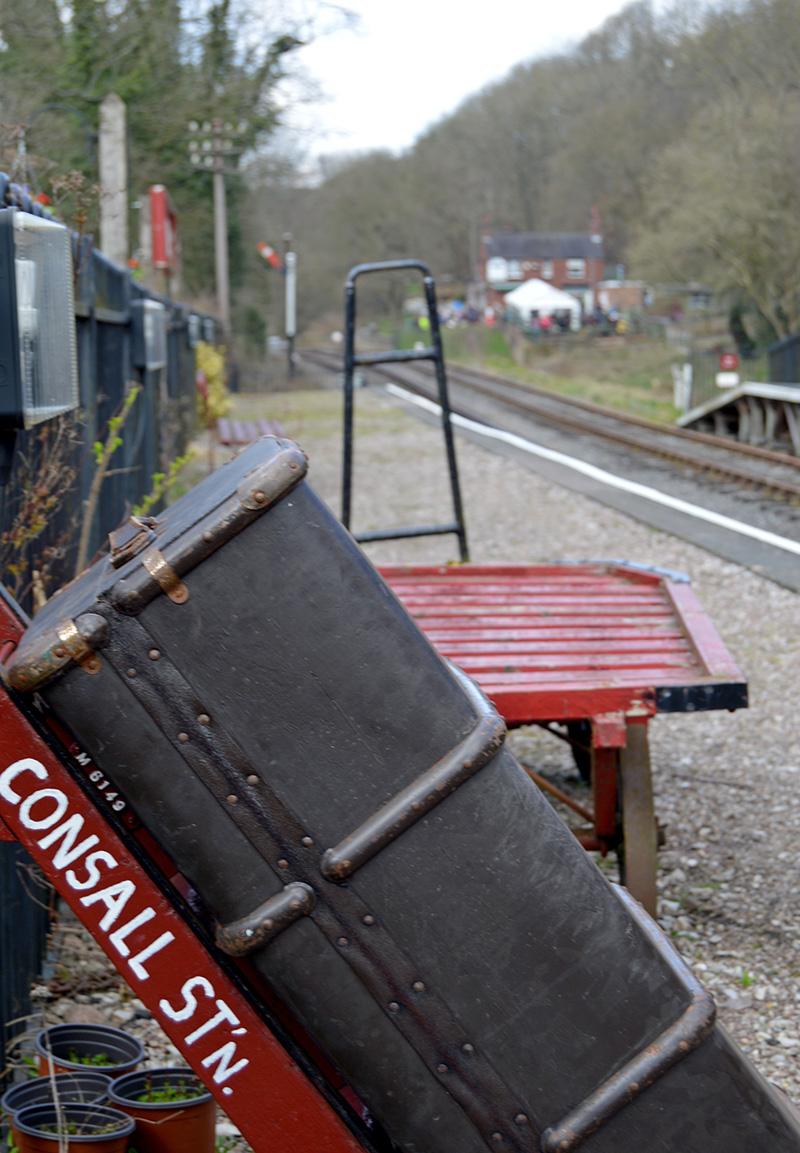 Consall station - uk