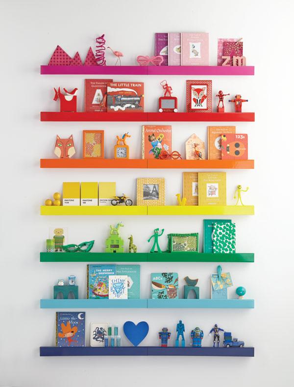 12 Rainbow home decor Ideas