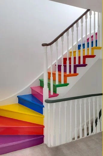 12 Rainbow Home Decor Ideas