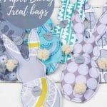 DIY paper bunny treat bags