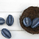 Denim eggs - Pillarboxblue.com