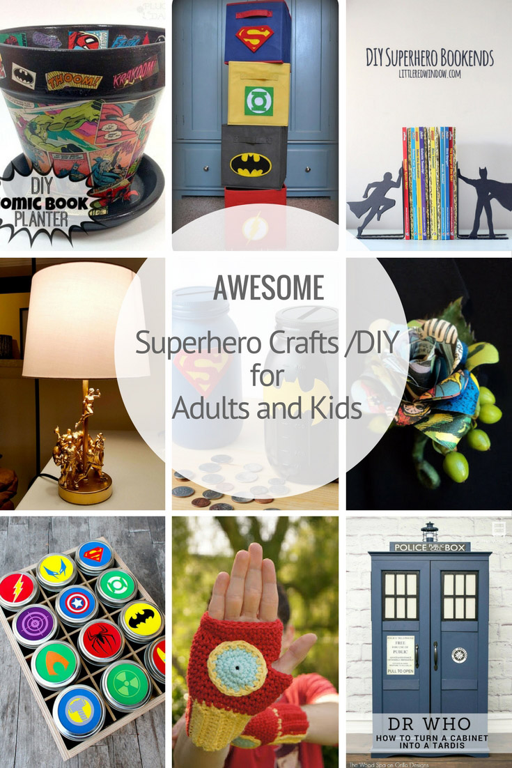 AWESOME superhero crafts diy(3)