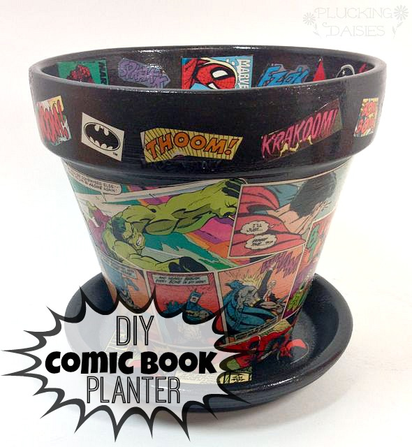 Comic Book Planter