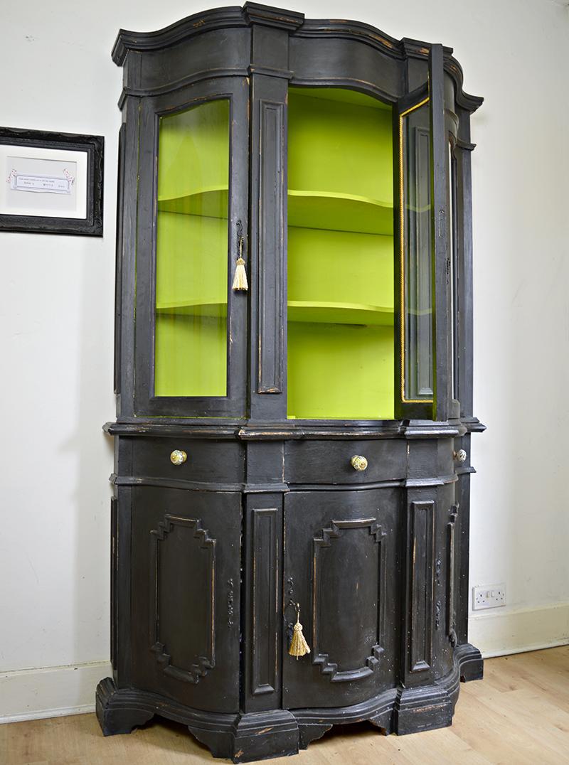 Cupboard transformation - Pillarboxblue.com