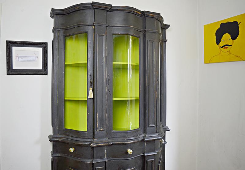 Craft cupboard transformation - Pillarboxblue.com