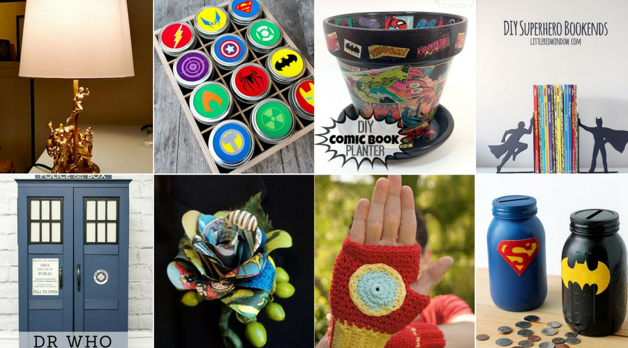 Superhero crafts and diy