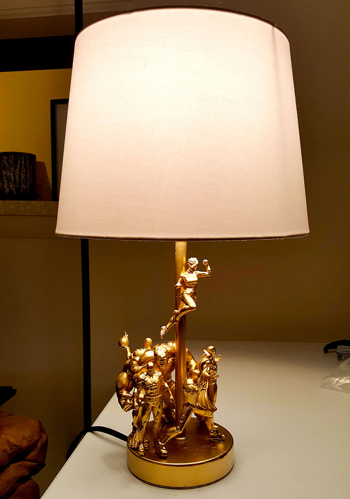 Superhero Lamp