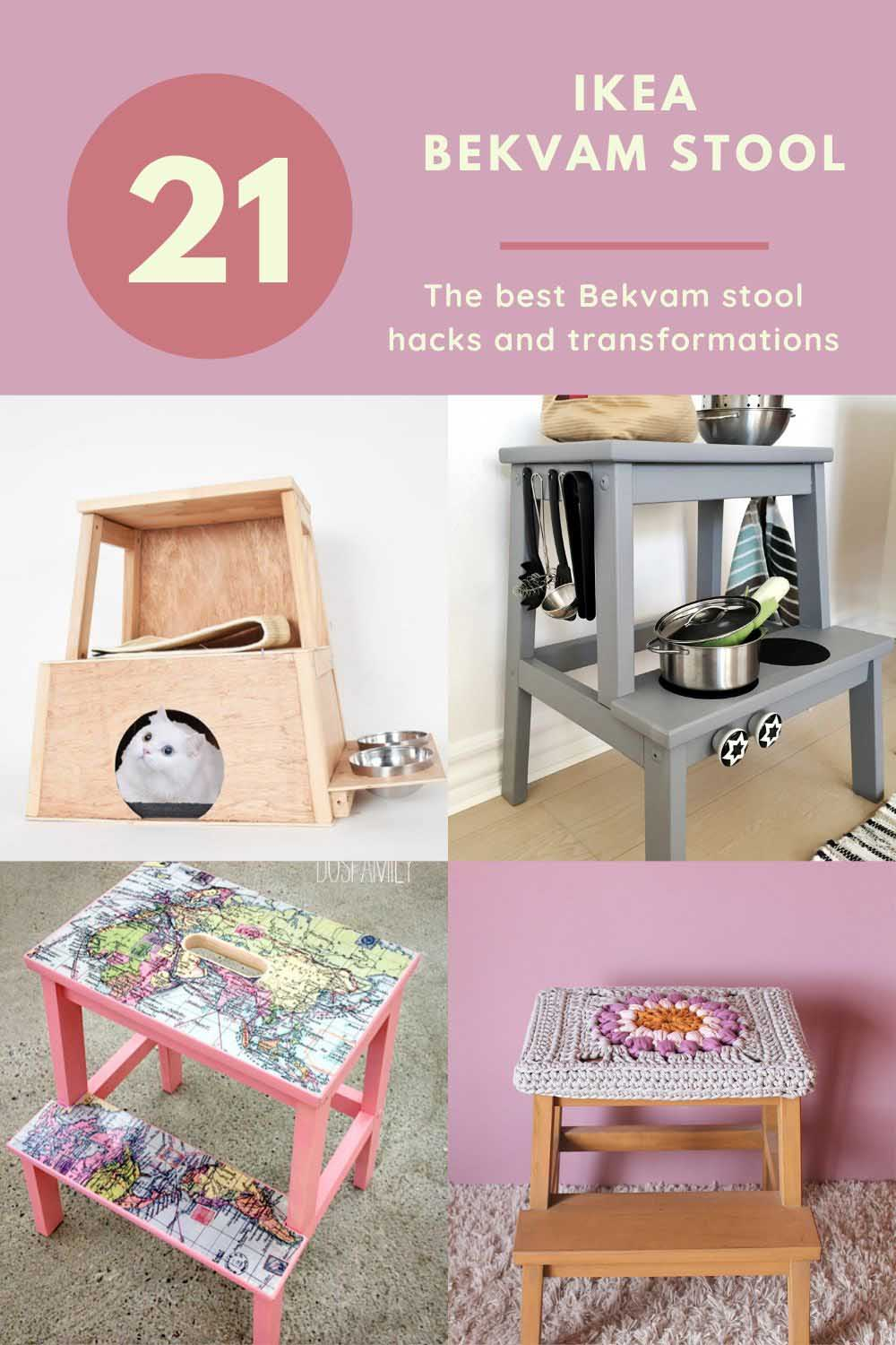 IKEA Bekvam Stool hacks