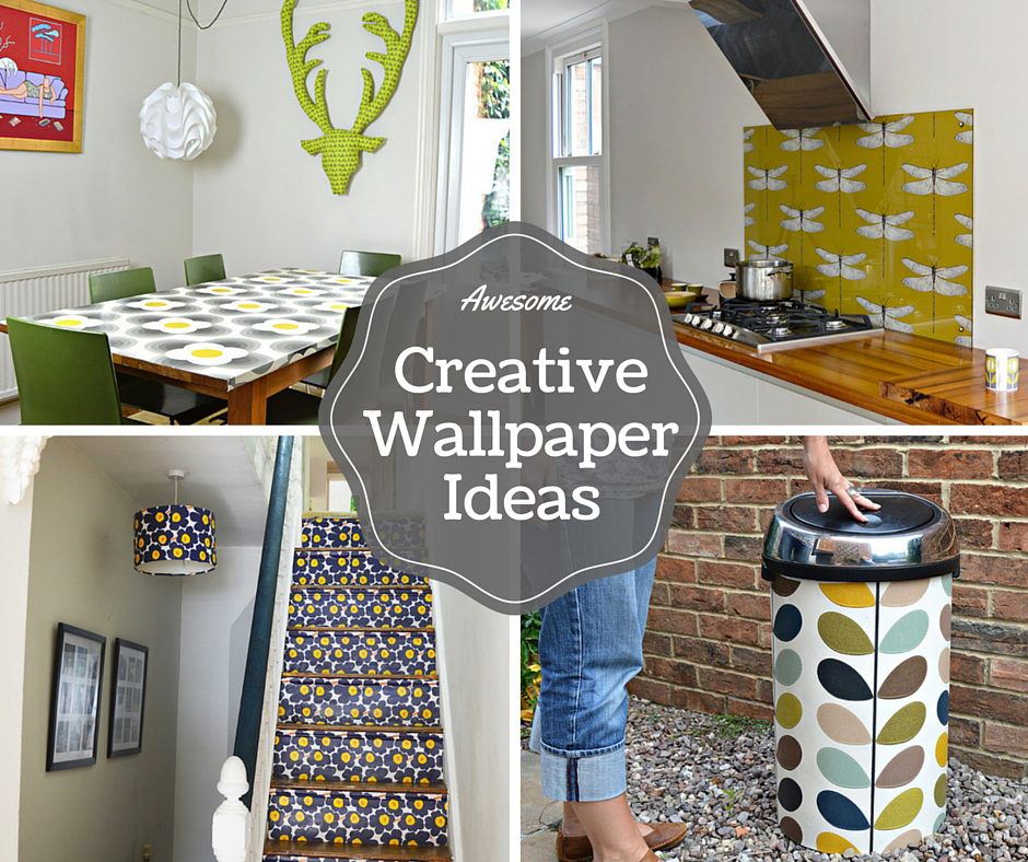 Awesome creative wallpaper ideas pillar box blue for Unique wallpaper ideas