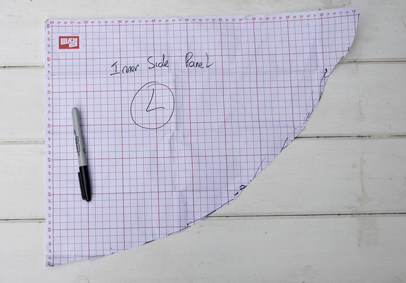 Ikea hack paper pattern