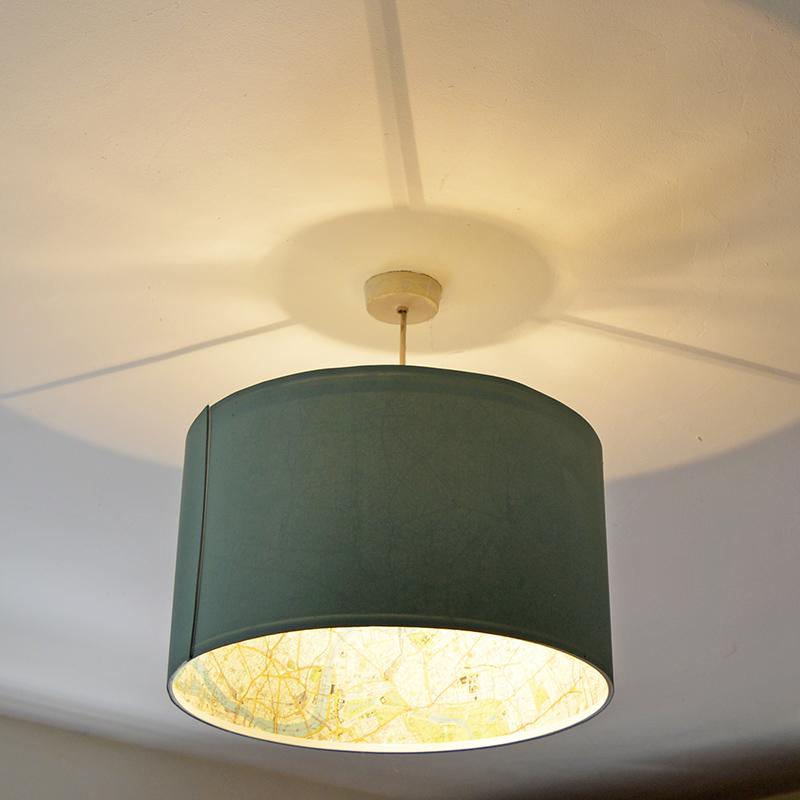 The Best Ikea Lamp Hack Rismon Map Lampshade Pillar