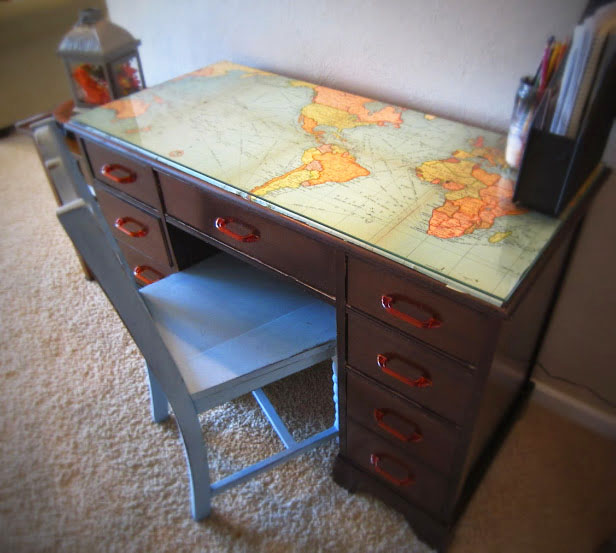 fantastic-map-decor-crafts-to-make-your-home-unique-2