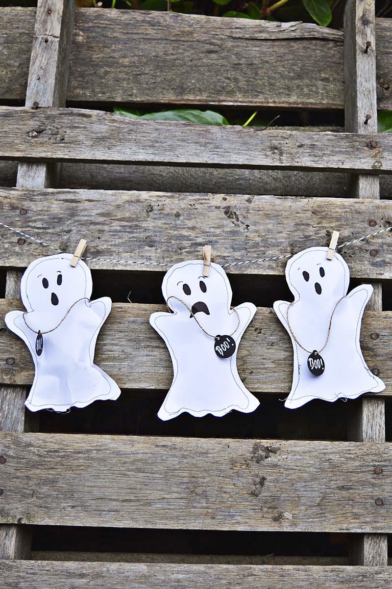ghost Halloween Treat bags