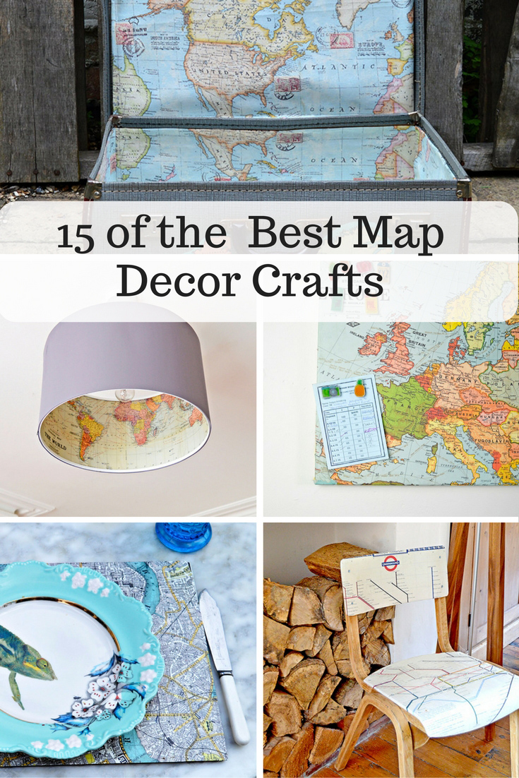 15 of the beast map decor crafts to personalize your home and make it unique.